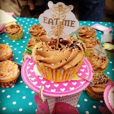 Chocolate and banana cupcakes