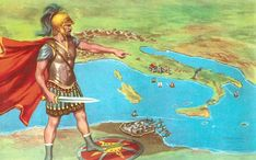 Hannibal, one of the greatest generals of all time, and Rome's most dangerous enemy, was born in Carthage in 247 BC. Ancient Rome, Ancient Greece, Ancient History, Carthage, Hannibal Barca, Punic Wars, Middle School History, Empire Romain, Roman Era