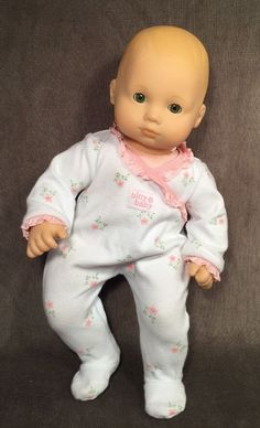 American Girl Bitty Baby Girl Retired Blonde Light Hair Green Eyes Tagged Pjs | Dolls & Bears, Dolls, By Brand, Company, Character | eBay!