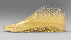 Earl Stewart's XYZ shoes are 3-D printed based on individual foot scans.