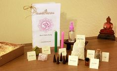 Wonderful for wellness! ... The Heart Chakra Healing Kit by CosmicKaruna on Etsy... Raw Crystals, Rose Water, Sage, Candles, Bath Tea, Incense & a very helpful booklet ♥ All organic & natural ingredients~ Time to relax & be spiritually pampered.. Om Shantih Om Peace