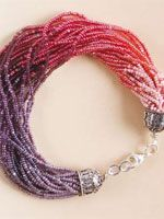 How to make bracelets: Cascade of Shades