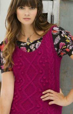 Study Hall Vest Knitting Pattern | Red Heart