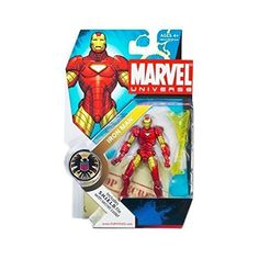Marvel Universe 3 3/4' Series 1 Action Figure Iron Man -- More info could be found at the image url.(It is Amazon affiliate link) #LoveForMarvel
