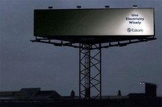 Eskom; Use Electricity Wisely.jpg