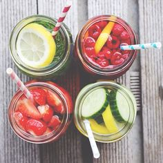 Make sure you stay hydrated on this beautiful sunny day #infusedwater #summerfeelings #lauryann