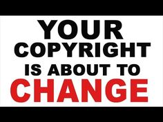 ATTENTION Artists: PLEASE WATCH this video about the proposed changes in the copyright laws coming soon (Comment deadline is July 23, 2015). And then write a letter to the copyright office to protest. Everything You Know About Copyright Is About To Change - Brad Holland