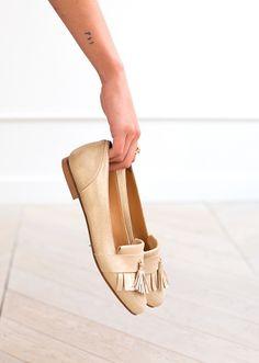 Mocassins Mayfair Franges // Collection automne hiver chaussures - www.sezane.com #sezane #mocassins #mayfair #franges