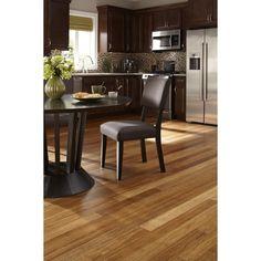 "Islander Flooring 3-3/4"" Solid Bamboo Hardwood Flooring in Carbonized"