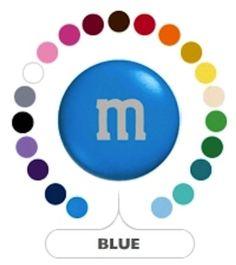 M's Blue Milk Chocolate Candy 1LB Bag: Amazon.com: Grocery & Gourmet Food