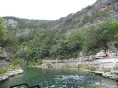 FRIO RIVER LEAKEY TEXAS  BEST SMALL TOWN IN TEXAS WITH BLUEHOLES
