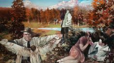 lars elling - Google Search Cool Paintings, Landscape Paintings, Web Gallery, Pulp Art, Sculpture, Various Artists, Surreal Art, Contemporary Paintings, Modern Contemporary