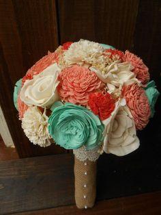 Sola Bouquet bouquet wedding bouquet sola by RosyLilyFlorals