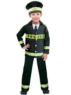 Diy police officer child costumes and dress ups pinterest child policeman costume solutioingenieria Images