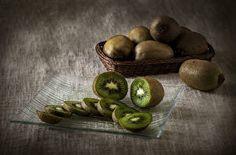 Kiwi Closeup Still-life Sliced food Food