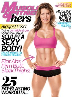 Check out Biggest Loser Trainer Jen Widerstrom on the cover of our November/December 2014 issue of Muscle & Fitness Hers