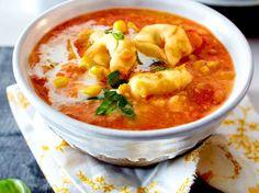 Unser beliebtes Rezept für Mais-Süßkartoffel-Suppe und mehr als 55.000 weitere kostenlose Rezepte auf LECKER.de.