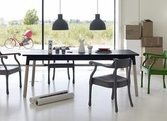 Unfold pendants - http://www.zoma.co.uk/shop/design/muuto-black-unfold-pendant-by-form-us-with-love/