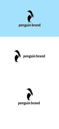 Penguin Brand Logo by goodigital13 on @creativemarket