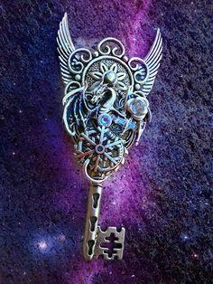 Night King Fantasy Key by ArtbyStarlaMoore on Etsy, $25.00