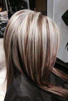 Blonde highlights by vivian