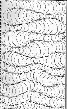 LuAnn Kessi: Quilting Sketch Book......Hair Bands Background Filler Design