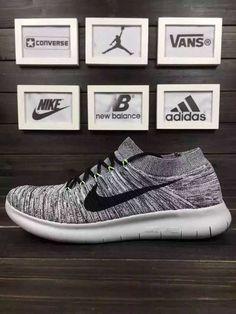 3d9f60472b5 NIKE FREE RN MOTION FLYKNIT 3.0 Grey Nike Shoes Uk