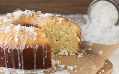 Worlds Best Recipes: Coconut Pound Cake Recipe. Here we have the world's best coconut pound cake recipe. You just have to try this wonderful pound cake. 13 Desserts, Delicious Desserts, Dessert Recipes, Cupcakes, Cupcake Cakes, Poke Cakes, Bundt Cakes, Layer Cakes, Coconut Pound Cakes