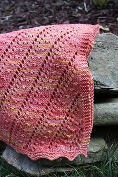 Cielito Baby Blanket - Knitting Patterns by Kristen Jancuk Crochet Baby Blanket Beginner, Baby Knitting, Knitting Room, Beginner Crochet, Vogue Knitting, Summer Knitting, Stitch Patterns, Knitting Patterns, Crochet Patterns