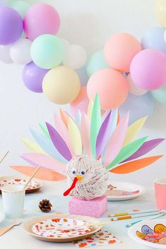 How to set up a Festive Kids Thanksgiving Table with Vanilla Gift Card Hosting Thanksgiving, Thanksgiving Crafts For Kids, Thanksgiving Table Settings, Thanksgiving Parties, Thanksgiving Centerpieces, Christmas Tablescapes, Holiday Tables, Kid Table, Fall Table