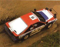 Shekar Metha - Rob Combes 19th Rallye Cote d'Ivoire 1987 (Nissan 200 SX)