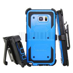 Heavy Dury Hybird Impact Shockproof Armor Stand Hard Case Cover+Holster With Belt Clip For Samsung Galaxy Note 5 N920 //Price: $8.55//     #electonics