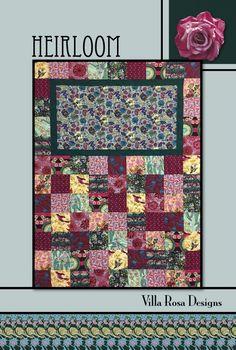 Pattern / Villa Rosa Designs / Heirlooom / 41x54