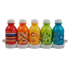 Reduce WaterWeek Classic Reusable Water Bottles, – Includes 5 Refillable Water Bottles Plus Fridge Tray For Your Water Bottle Set – BPA Free, Leak Proof Cap – Perfect for To-Go Lunch Boxes Fancy Water Bottles, Bpa Free Water Bottles, Best Water Bottle, Reusable Water Bottles, Bottled Water, Kids Bottle, Hydration Bottle, Thing 1, Kids Store