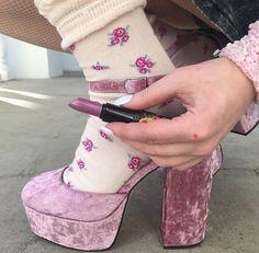 kawaii soul uploaded by Psychomaniatic☼ on We Heart It Dr Shoes, Sock Shoes, Me Too Shoes, Daphne Blake, Pretty Shoes, Cute Shoes, Look Fashion, Fashion Shoes, Fashion Outfits