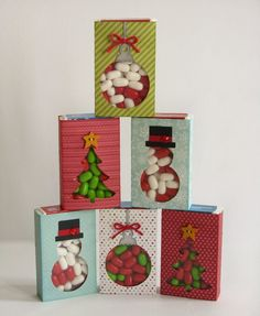 Christmas TicTac Wraps by Mendi Yoshikawa - Scrapbook.com