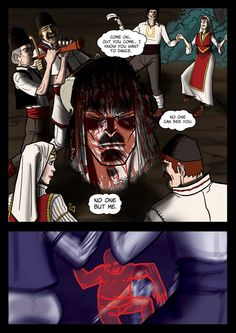 It's a Vampire!!! (page 18) by Gocce & Sejver #vampires #horror #comics #fantasy; free previews on www.komicbrew.com