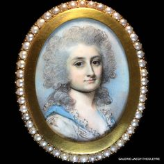 ENGLEHEART George (1750-1829), PORTRAIT MINIATURE OF A YOUNG LADY, CIRCA 1780