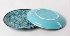 Khurja Pottery ❤ Plate ❤ 40 ( 1 Full Plate + 1 Quarter Plate )