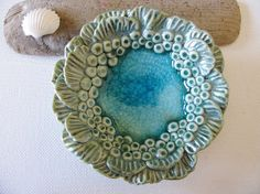 Sea Anemone Bowl by TinaFrancisDesigns on Etsy, $32.00