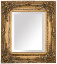 antique mirrors | Costa Baroque Style Antique Gold Mirror