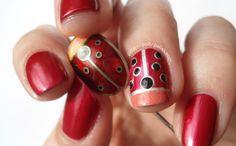 Ladybird Swatch Nail Polish