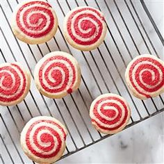 "Peppermint ""Candy"" Cookies"