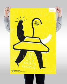 POSTERS by Agata DUDU Dudek, via Behance