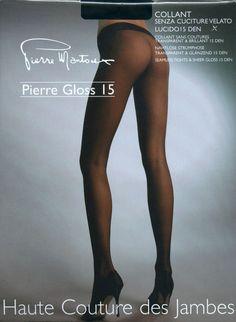 Pierre Mantoux SEAMLESS GLOSS PANTYHOSE