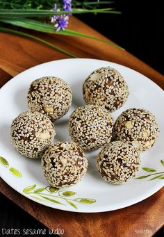 Dates sesame ladoo recipe – Healthy, nutritious and wholesome ladoo made with dates and sesame seeds. Ladoo are one of the most made sweet snack at home for my kids' school box. I mostly make the different kinds of ladoos without using sugar and much ghee. I have been making these dates sesame laddu for …