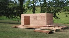 Brikawood Studio Kit: Build A House with Wooden Bricks