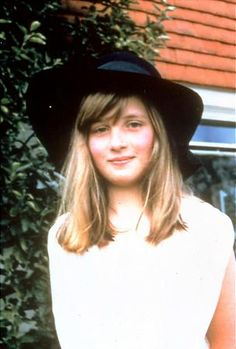 lady diana spencer, the later princess of wales, 1970