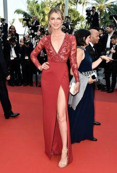Angela Lindvall in Zuhair Murad - #Cannes2016