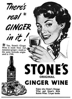 There's real ginger in it